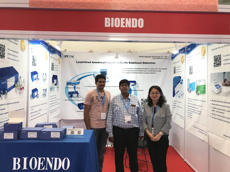bioendo a participé au salon analytica anacon india & india, du 6 au 8 septembre 2018, à hyderabad, en inde